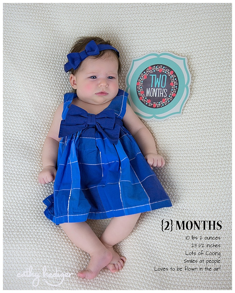 2 month baby photography