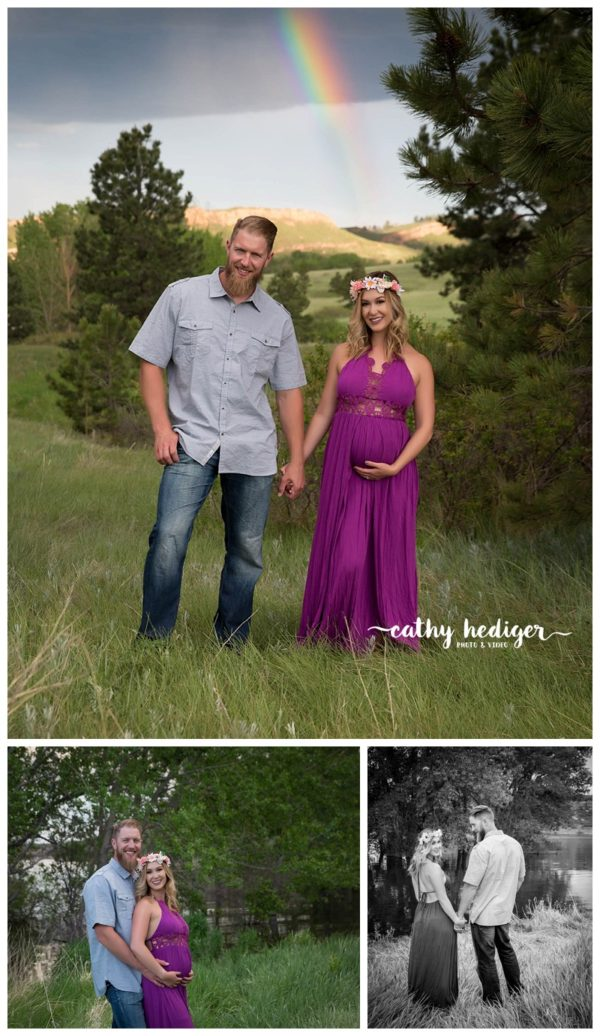 Magical maternity photo shoot