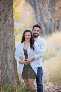 Fall engagement photos in Northern Colorado